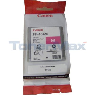 CANON PFI-104M INK TANK MAGENTA 130ML